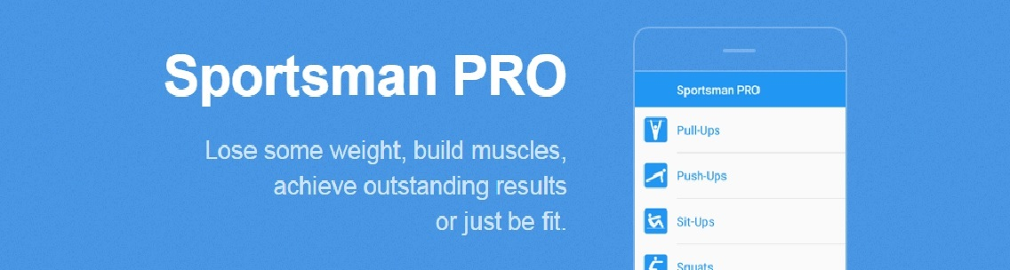 Sportsman PRO. Workout screenshot