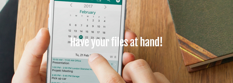 FileCalendar app
