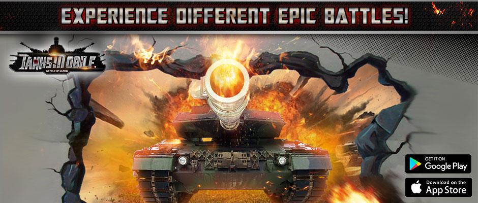 Tanks Mobile game