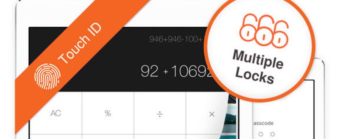 Secret Calculator Vault app
